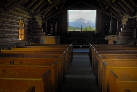 Soldiers' Chapel, Big Sky, Gallatin, County, 2013, MT_ACT3508, by JMGatlin