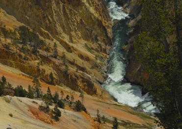 YNP, Yellowstone Canyon Sept 2013, by JMGatlin